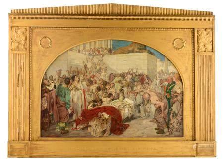 Seuffert R., 'Marc Antonius an der Leiche Julius