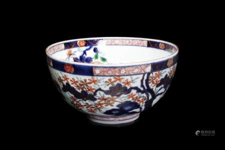 Japanese Art An Imari porcelain bowl. Marked at the base. Japan, 19th century