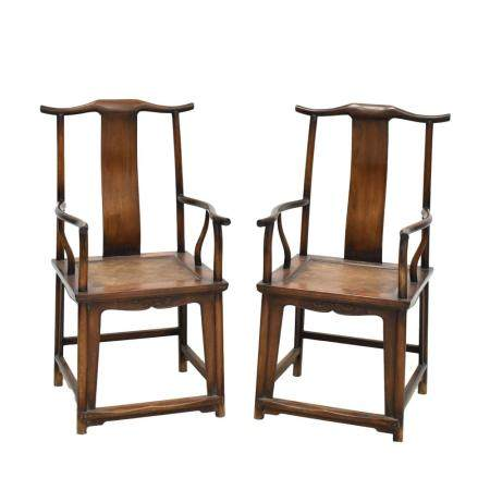 PR. HUANGHUALI OFFICER HAT ARM CHAIRS
