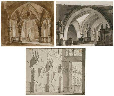 ANONIEM / ANONYME ITALIE XVIII-XIX