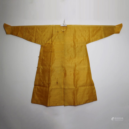 A CHINESE QING COURT SILK ROBE