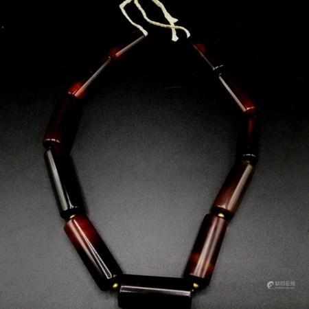 清 絲綢之路瑪瑙貿易珠