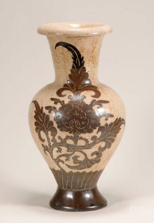 Song Dynasty - Patterned Cizhou Ware Vase