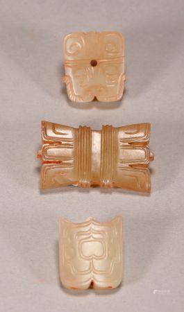 Han Dynasty - Set of Jade Ornaments