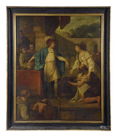 Nicolas Guy BRENET (1728-1792), entourage de.  - Saint-Louis et Sainte-Elisabeth de [...]