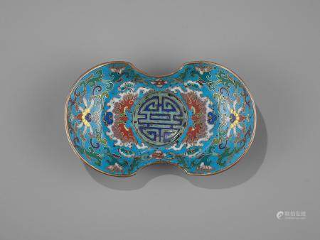 A 'DOUBLE HAPPINESS' CUP STAND, QIANLONG