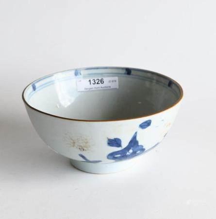 Late 18th century Qing Qianlong pottery bowl