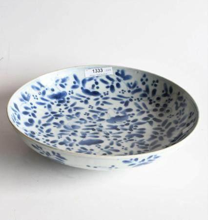 Early 17th century Ming Chongzhen porcelain bowl