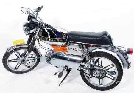 Kreidler Florett, K 54/32-D AB, License plate DS-014-K, Dat ...