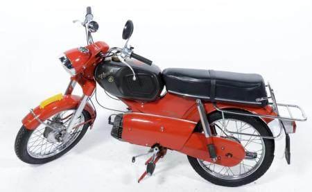 Kreidler Florett, k53 / 21 NL, License plate FN-861-R, Date ...