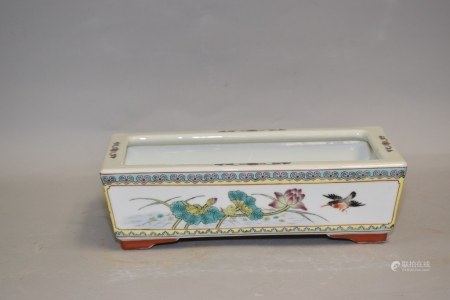 Chinese Porcelain Famille Rose Narcissus Planter