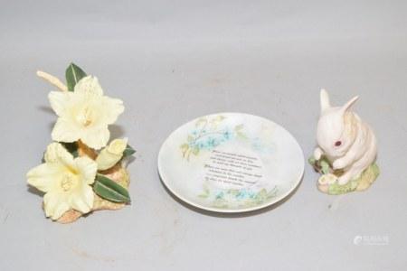 Group of Porcelain Table Decor