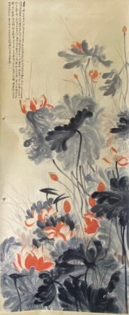 A Chinese us flower painting