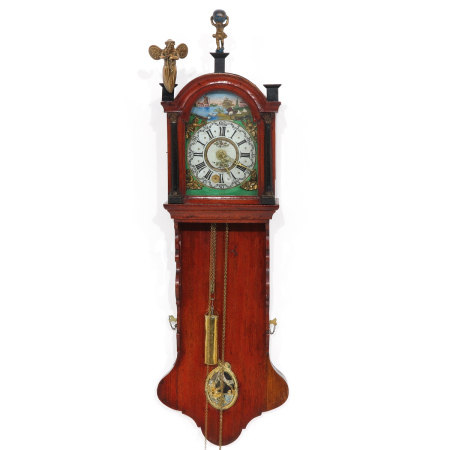 A Dutch Wall Clock or Staartklok