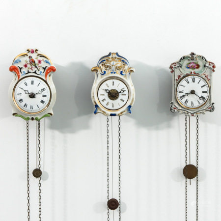 A Collection of 3 Clocks