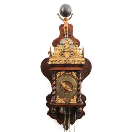 A Dutch Zaanse clock