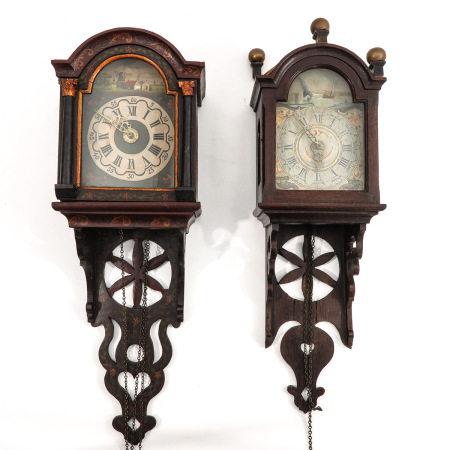A Lot of 2 Wall Clocks