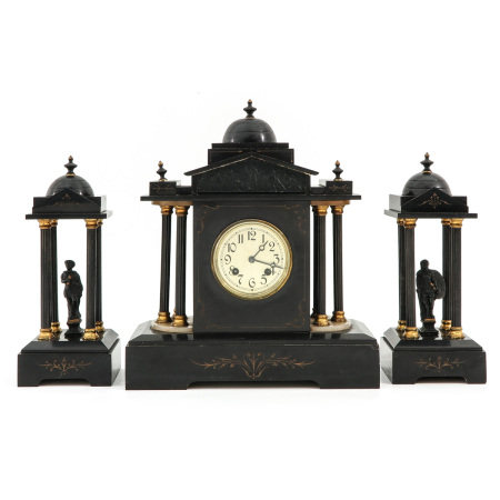 A 3 Piece Clock Set