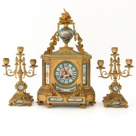 A French Clock Set