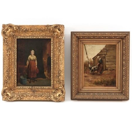 A Lot of 2 Paintings