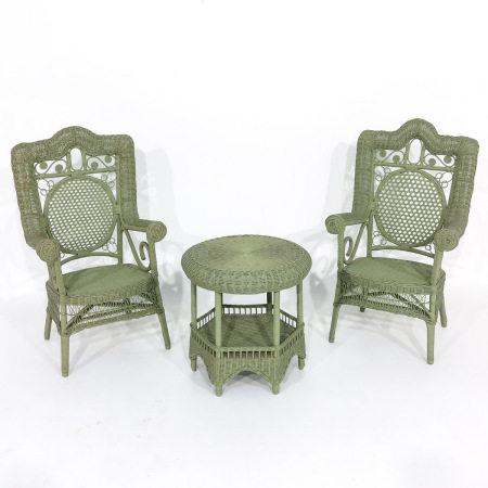 A Lot of Rattan Furniture