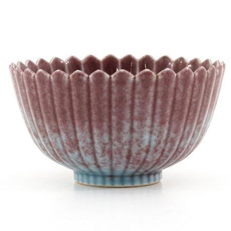 A Purple Glaze Bowl