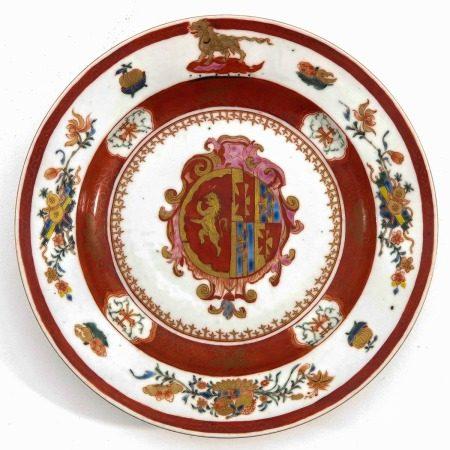 An Armorial Plate