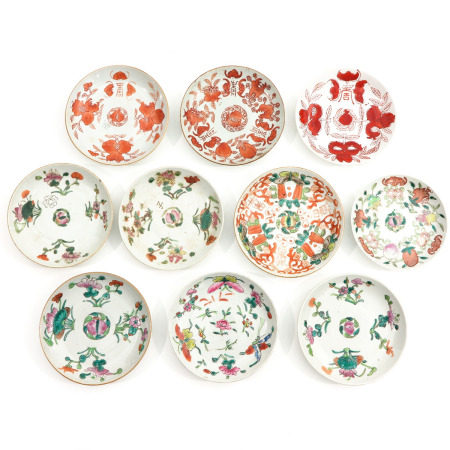A Collection of 10 Small Plates