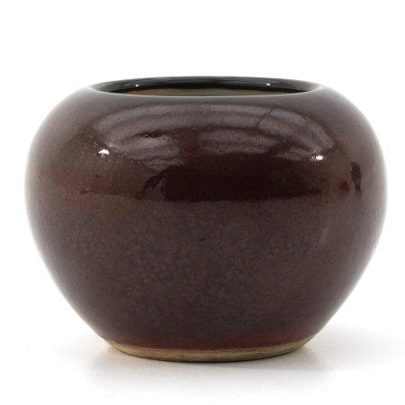 A Brown Glaze Brush Washer