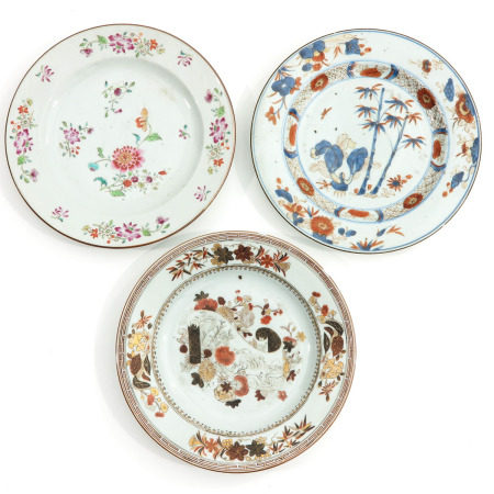 A Collection of 3 Plates