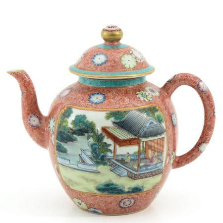 A Polychrome Decor Teapot
