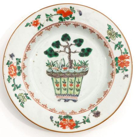 A Famille Verte Plate