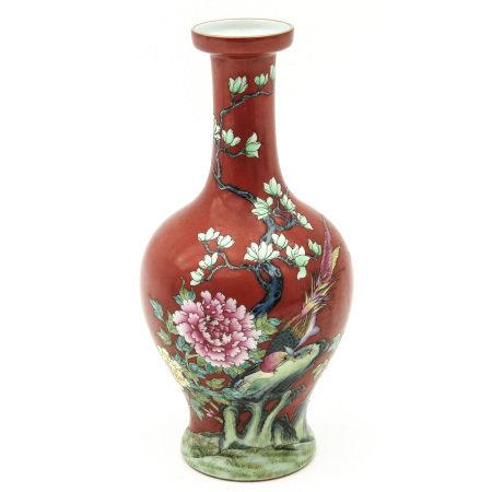 A Polychrome Decor Vase