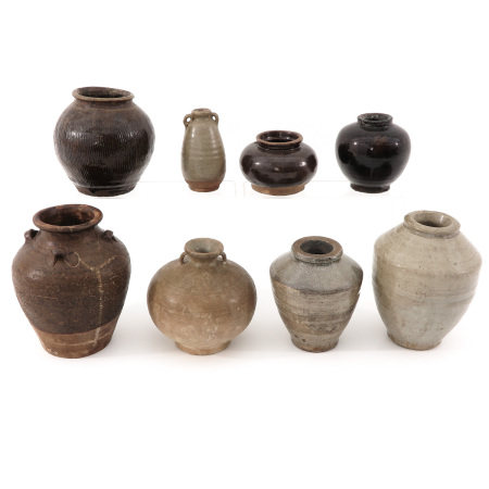 A Collection of Asian Stoneware