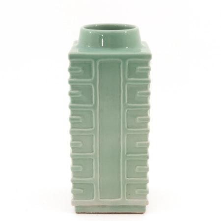 A Celadon Kong Vase