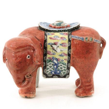 An Elephant Censer