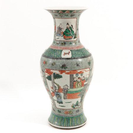 A Famille Verte Vase