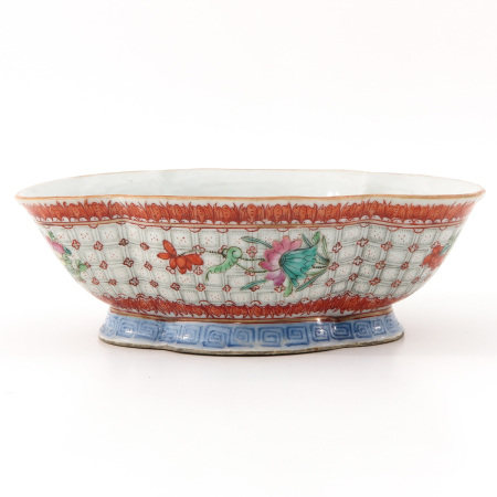 A Famille Rose Altar Dish