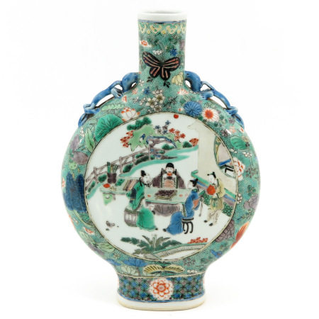 A Moon Bottle Vase