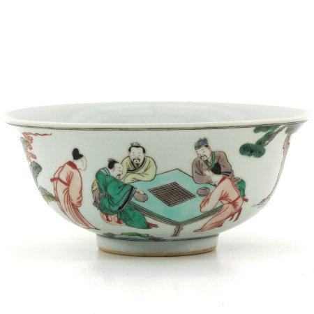 A Famille Verte Bowl