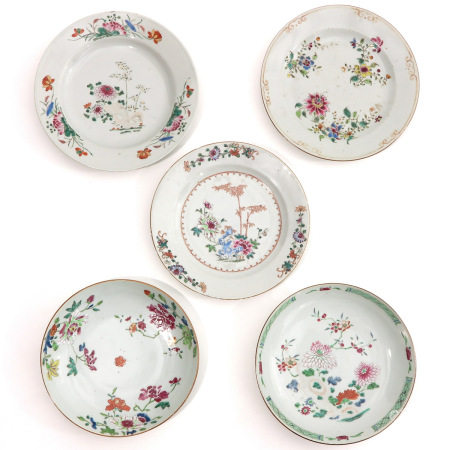 A Collection of 5 Plates