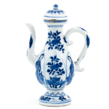 A Kangxi Period Small Pitcher and Cover