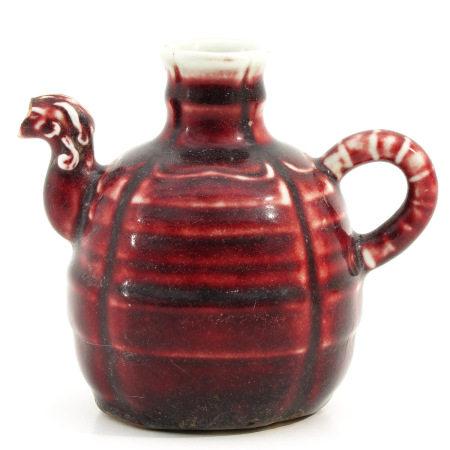 A Red Glaze Teapot