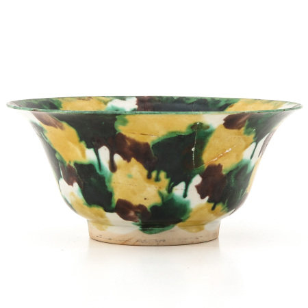 A Spinich and Egg Decor Bowl