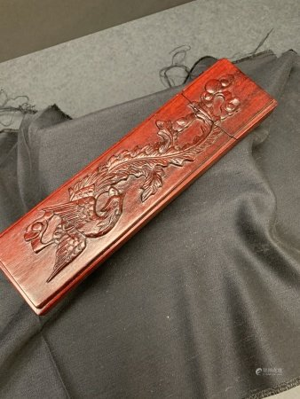 Rosewood chopsticks with case