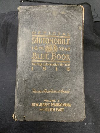 1916 Blue Book