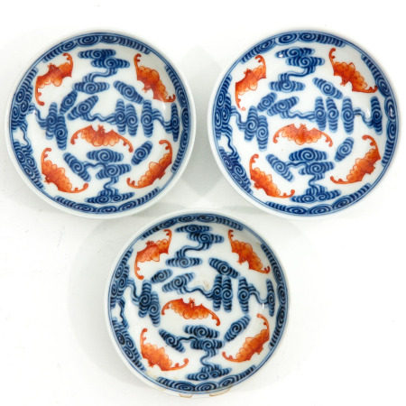 A Set of 3 Small Plates