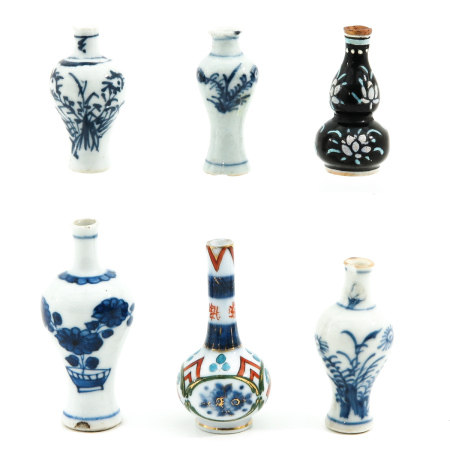 A Collection of Chinese Miniature Vases