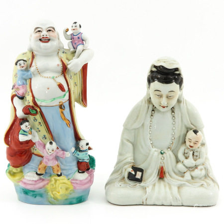 Two Chinese Sculputers