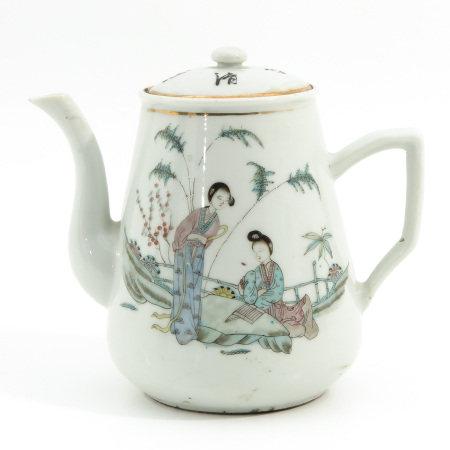 A Qianjiang Cai Decor Teapot